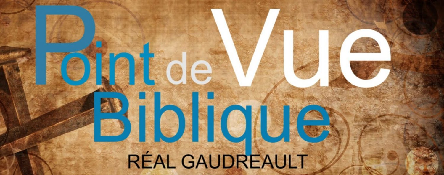Point de vue Biblique